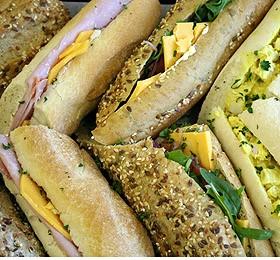 2019 Sandwich Platters - Baguettes